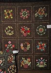 Country Garden, the Quilt, and Country Garden, the Rug