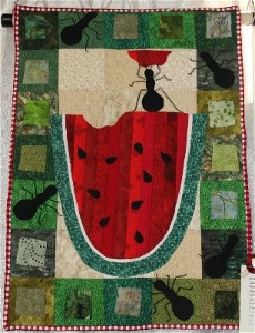 Ants on a Watermelon Picnic