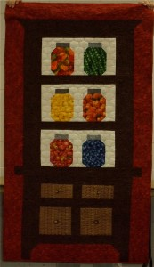 Fruit and Vegetable Jars Quilt