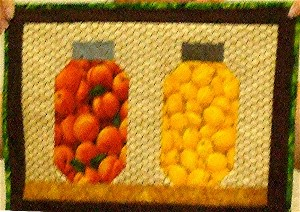 Fruit and Vegetable Jars Placemats