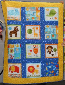 Baby Panel Quilt