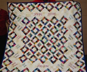 Friendship Group Quilt