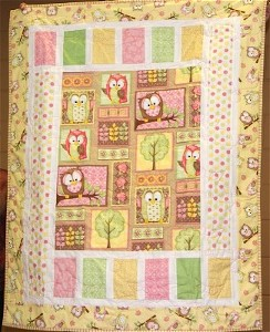 Center Stage Panel Quilt