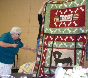 President's Quilt for Kathy Quinlan