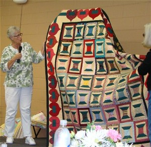 President's Quilt for Sharon Walters